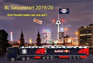 Am Sonntag, den 18.08.2019 startet die neue Saison für Rasenballsport Leipzig und wir Rebellen LE 2.0 sind wieder mit dabei.